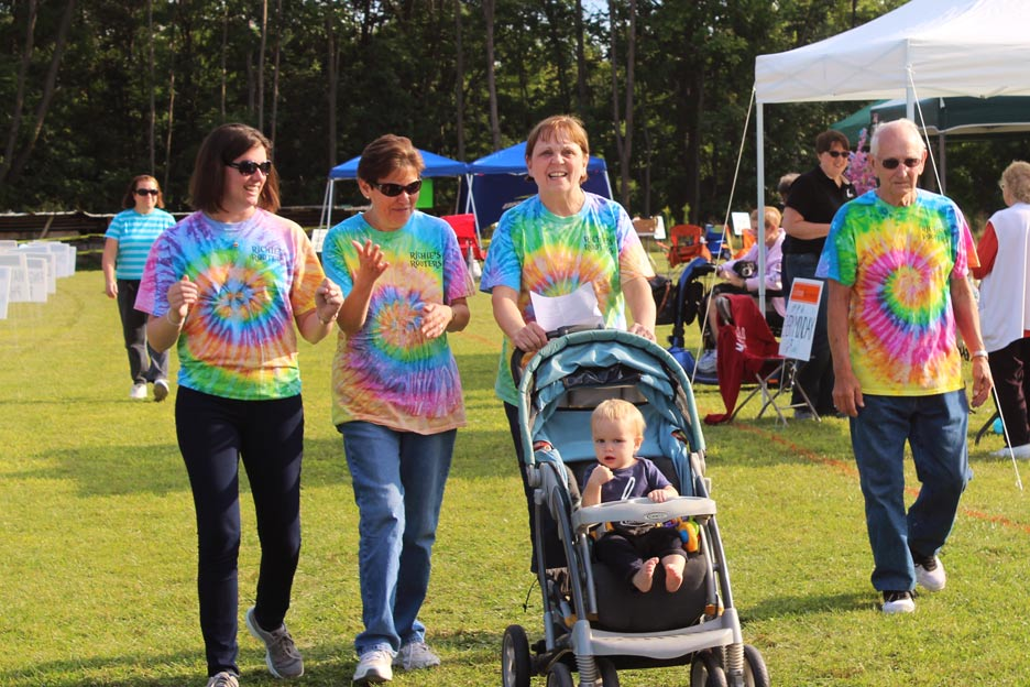 Cancer Suppoert Services Hope Walk of Yates County