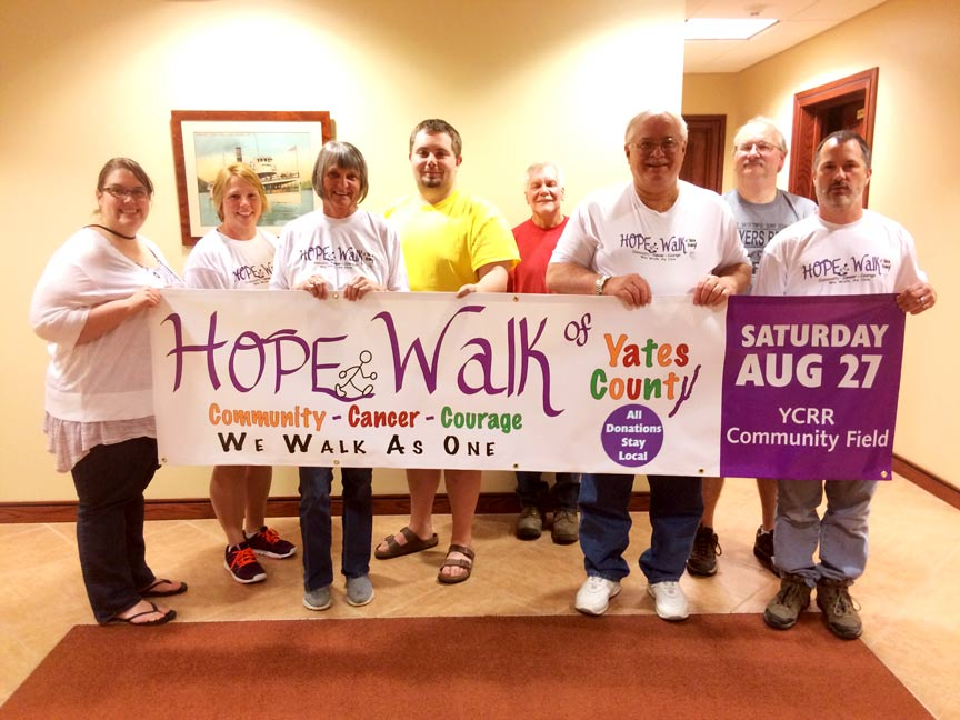 Hope Walk Of Yates County Staff